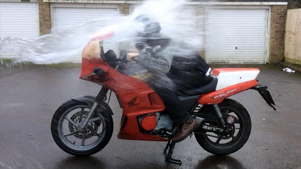 aerodynamics test -