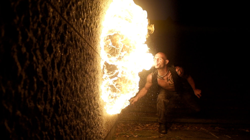 vehemence - A slow-motion fire breathing short, shot at 200fps on the Sony FS700