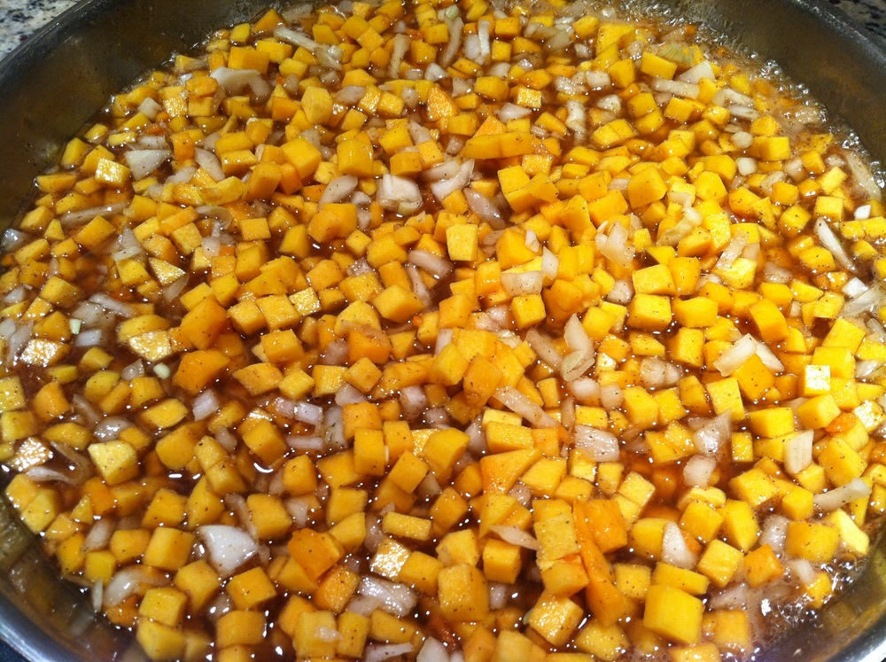 Simmering the Fall Festival Butternut Squash Chutney