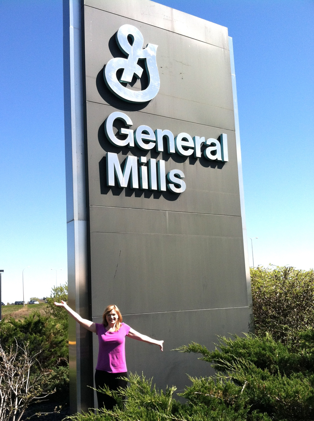 We had a great visit to General Mills in MN after the Bake-Off!