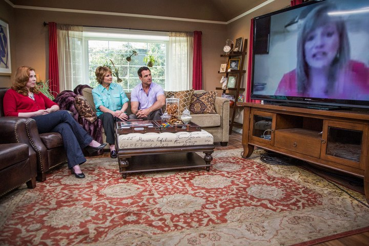 My Skype appearance with Kristina Vanni on The Home & Family Show.