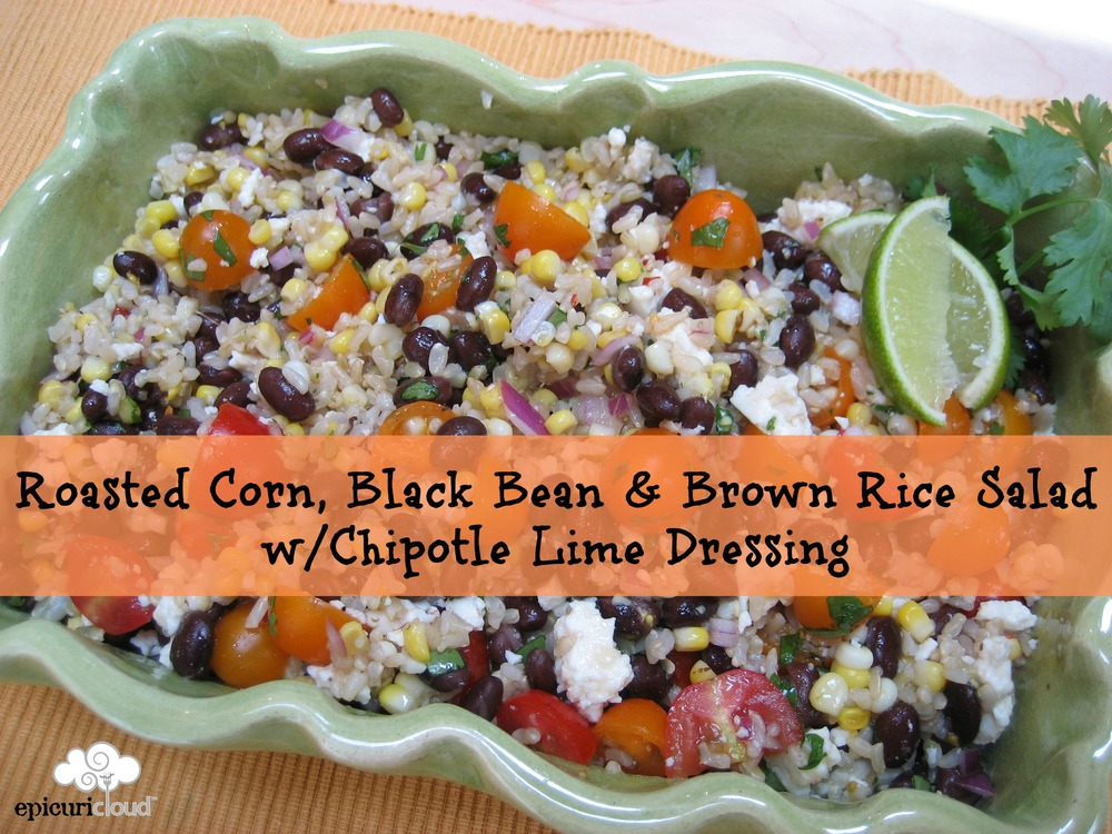 ... Bean & Brown Rice Salad w/Chipotle Lime Dressing — epicuricloud