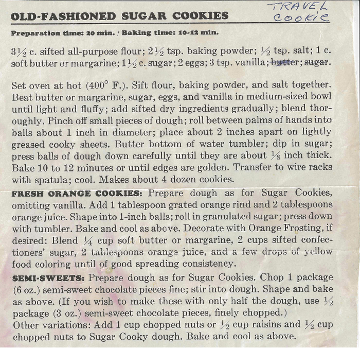 Recognize this recipe from anywhere?