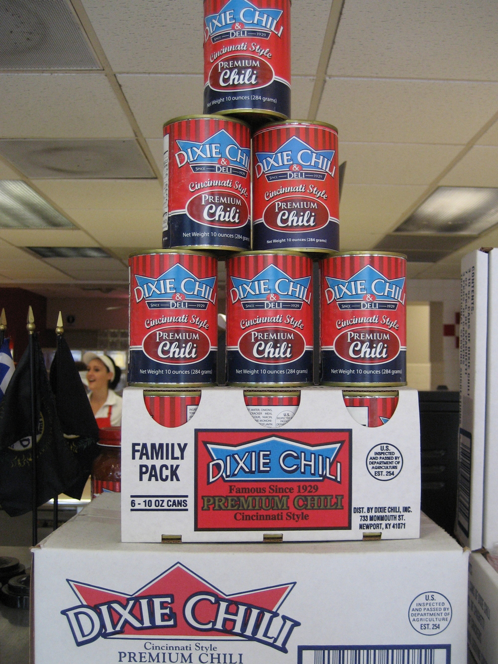 Canned Dixie Chili