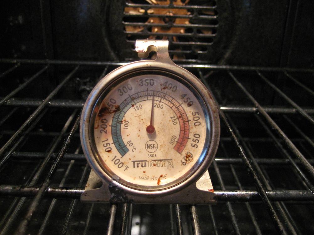 Check Your Oven Temperature: