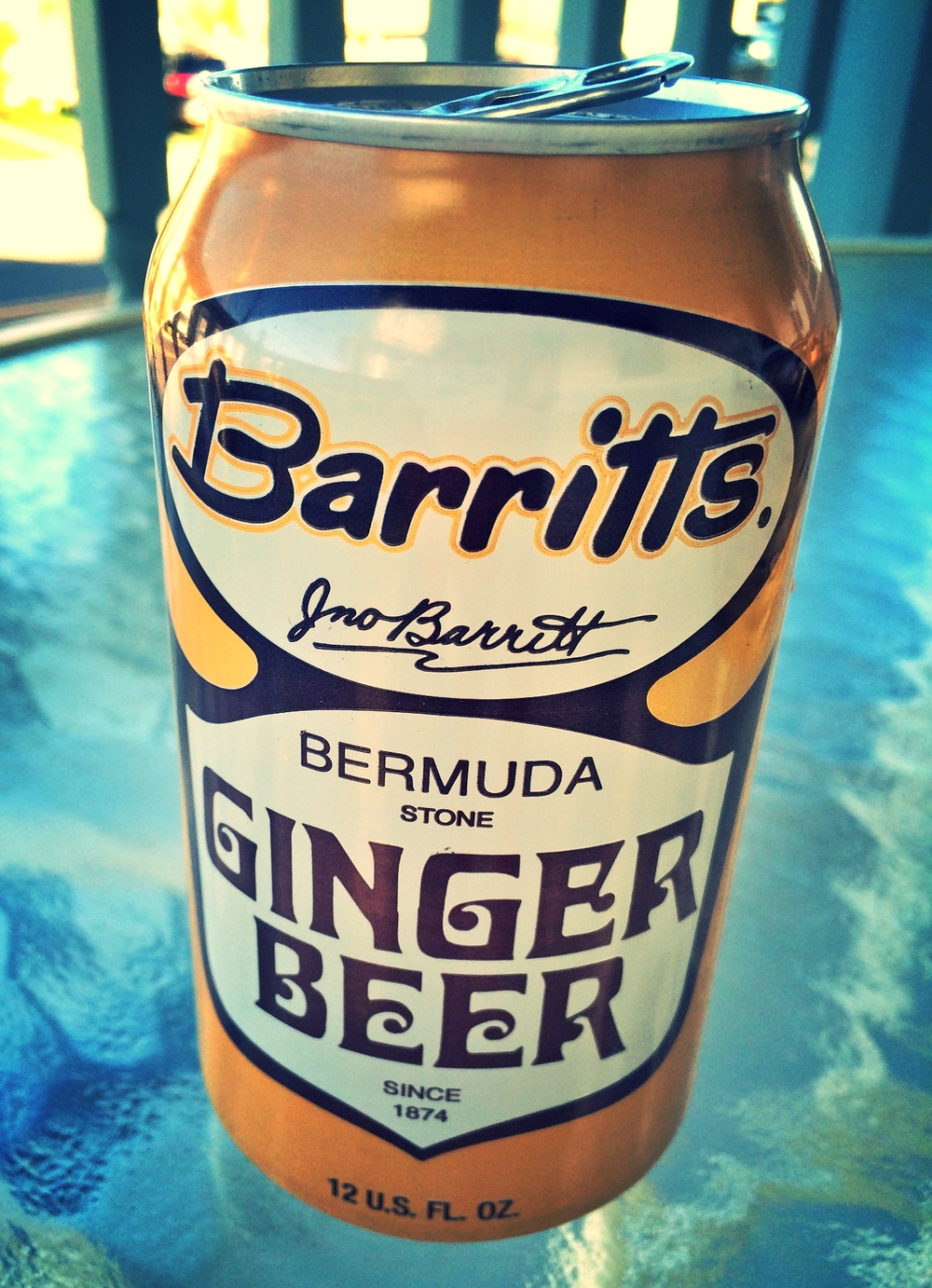 Ginger Beer is nonalcoholic and is available at larger grocery stores and beer distributors.