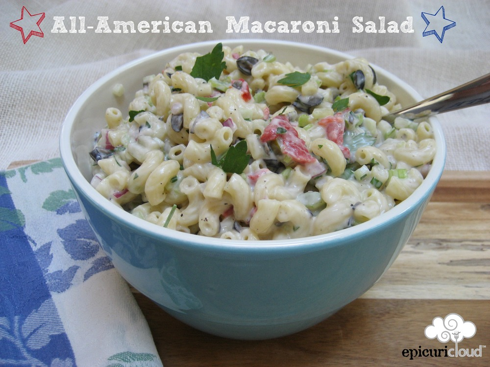 All-American Macaroni Salad - epicuricloud