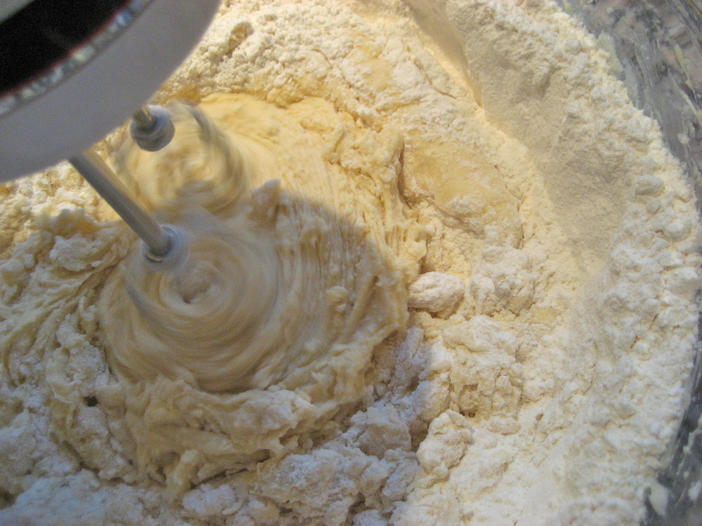 Mix in Flour