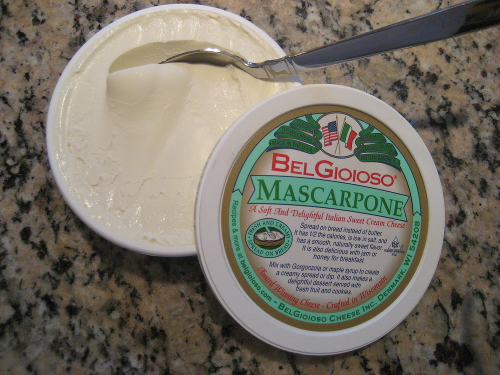 Want to Gild the Lily?  Make Mascarpone Whipped Cream!