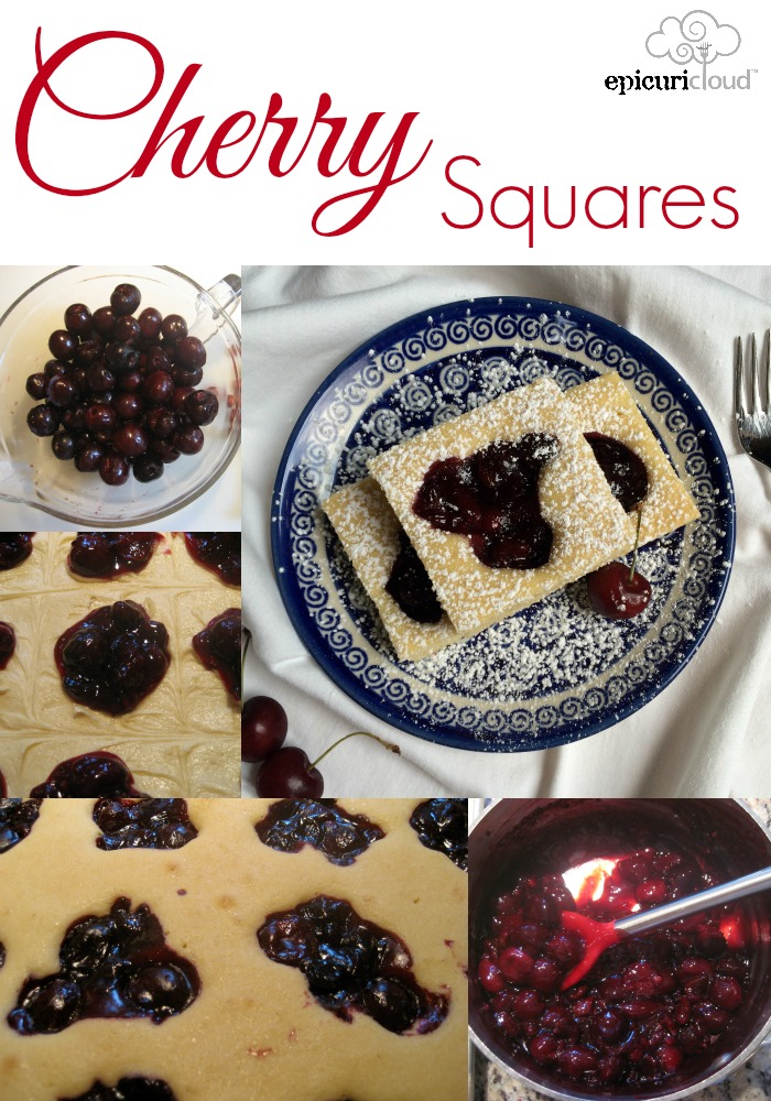 Cherry Squares - epicuricloud