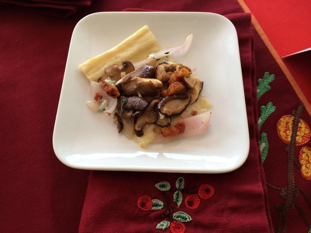 Mushroom Medley Flatbread
