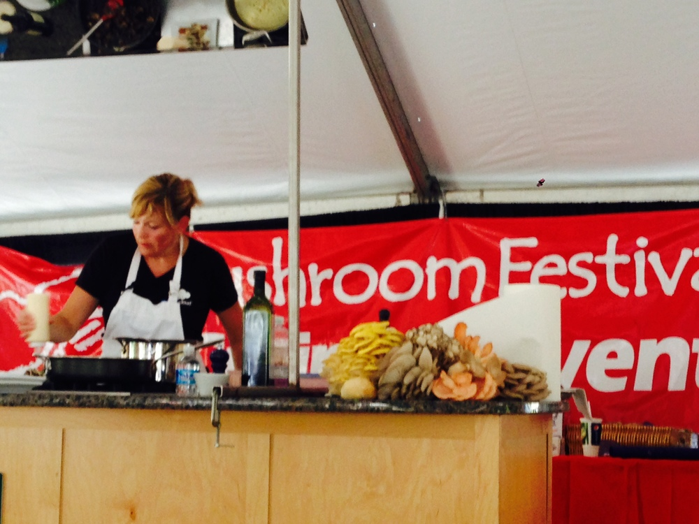 Mushroom Cooking Demonstration - epicuricloud