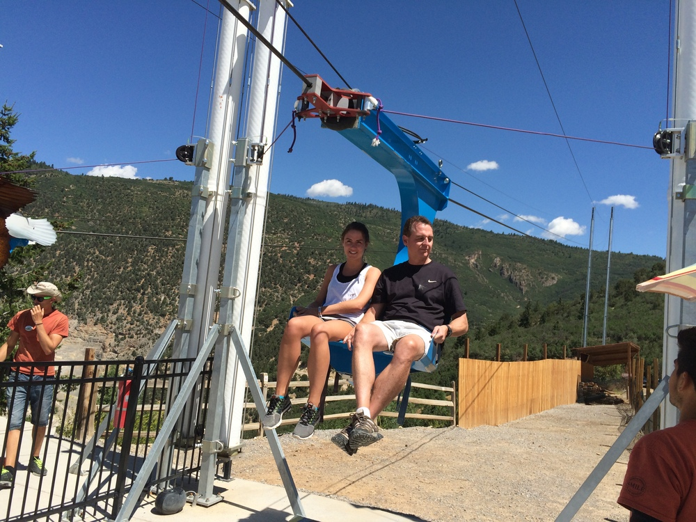Soaring Eagle Zip Ride