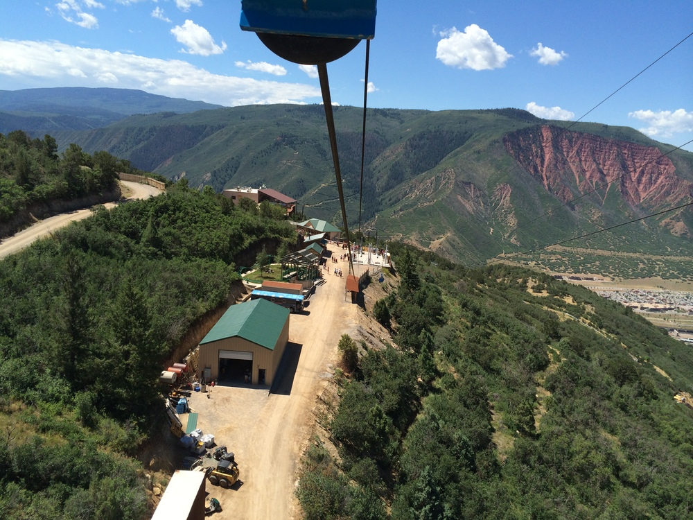 View from Top of Zip Ride