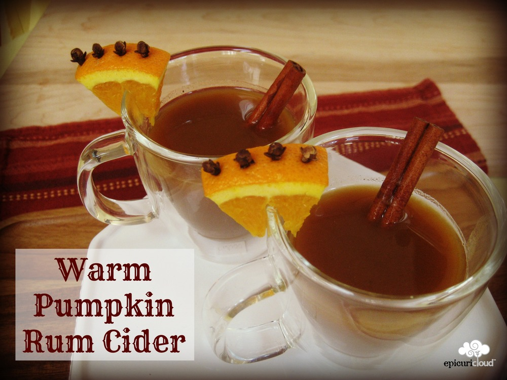 Warm Pumpkin Rum Cider - epicuricloud