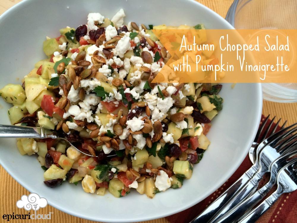 Autumn Chopped Salad - epicuricloud