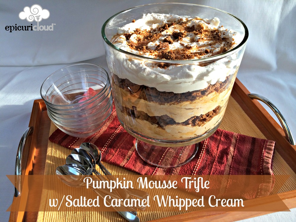Pumpkin Mousse Trifle - epicuricloud