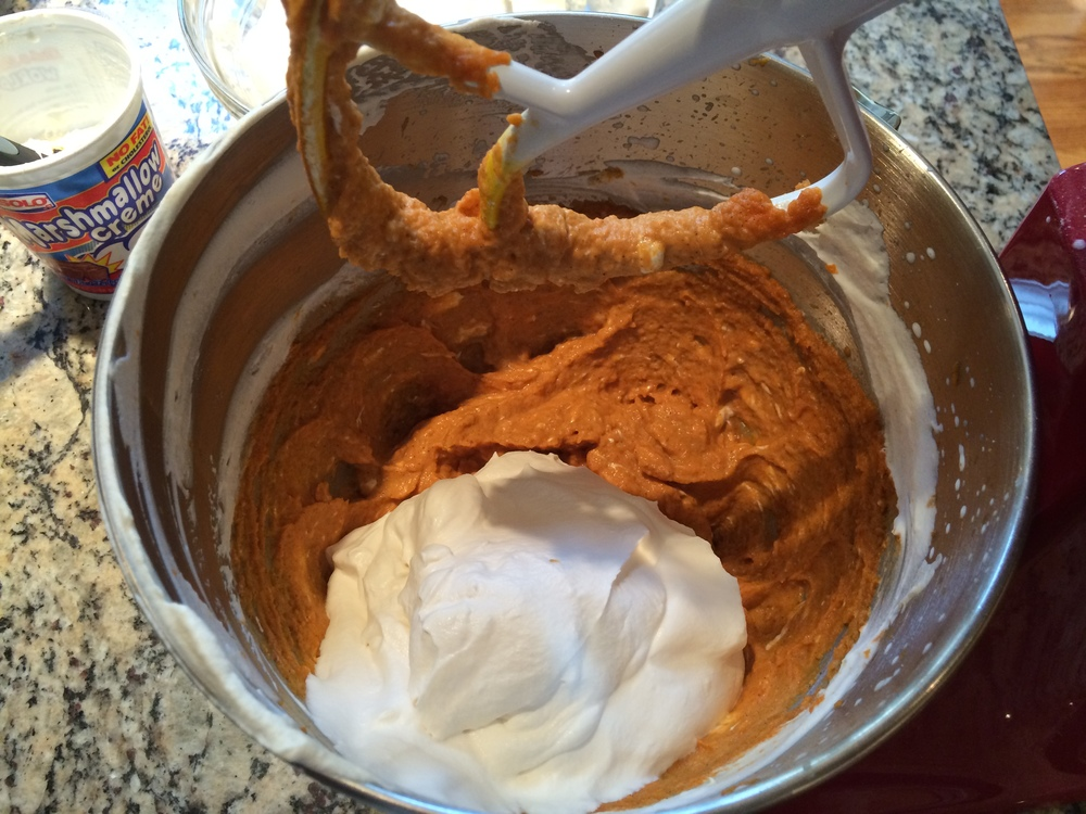 …and salted caramel whipped cream