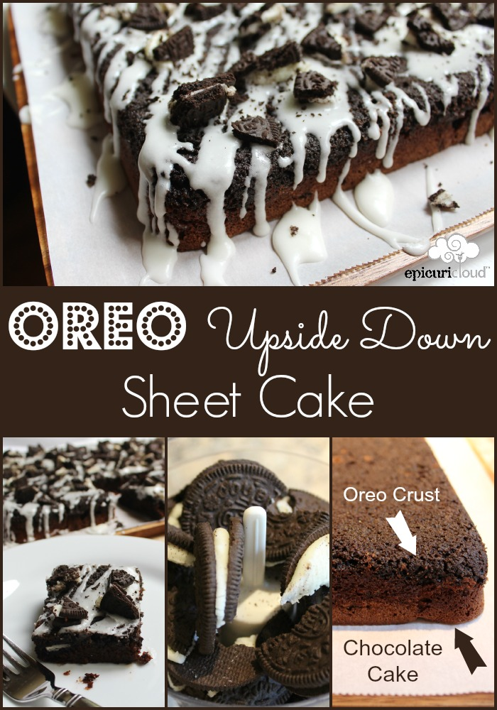 Oreo upside down sheet cake MMM epicuricloud.com