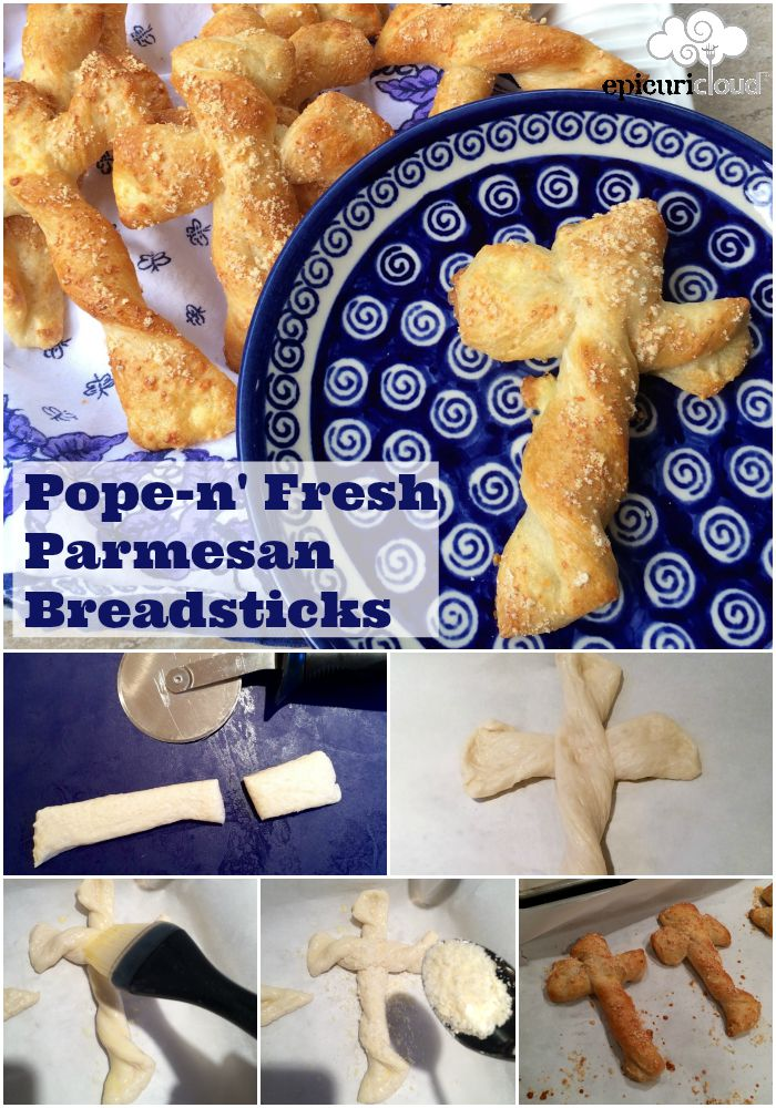 Pope n Fresh Parmesan Breadsticks - epicuricloud
