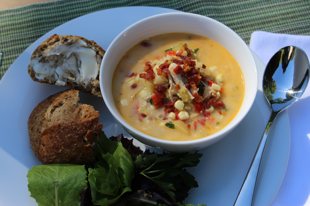 Chicken Corn Chowder - epicuricloud