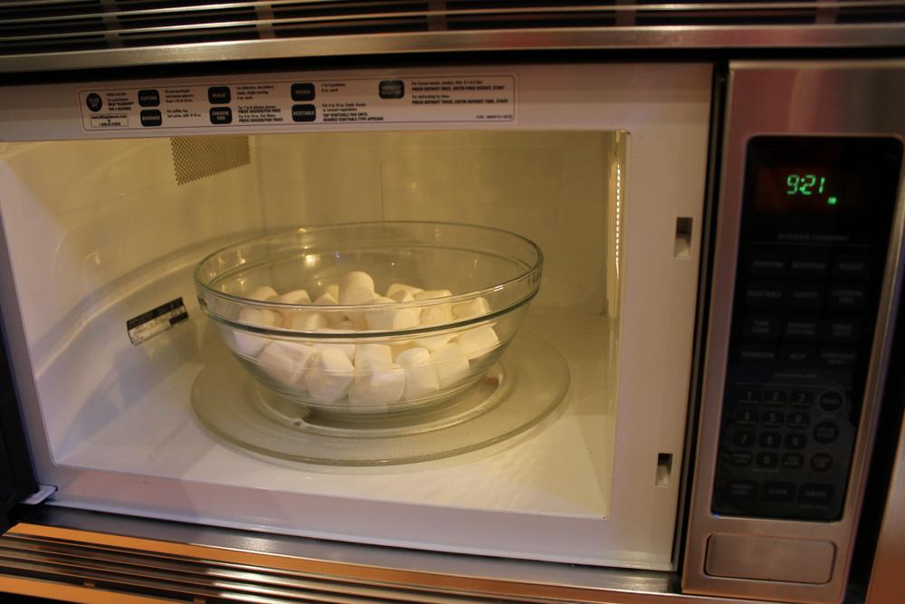 Microwave for 30 sec. intervals until...