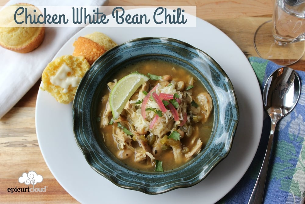 Chicken White Bean Chili - epicuricloud