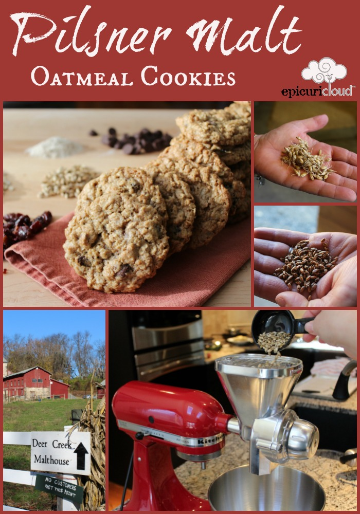 Pilsner Malt Oatmeal Cookies and Malthouse Tour - epicuricloud