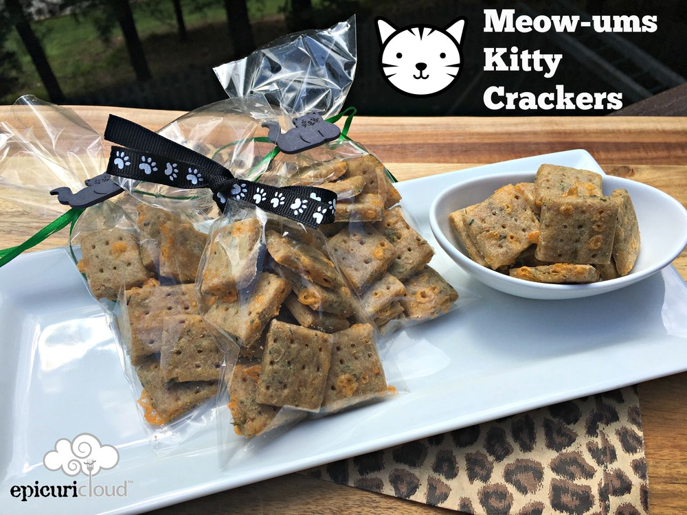 Meow-Ums Kitty Crackers Recipe - epicuricloud