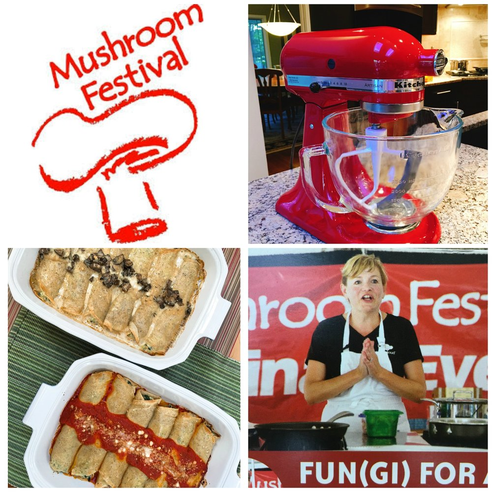 Mushroom Festival Collage - epicuricloud