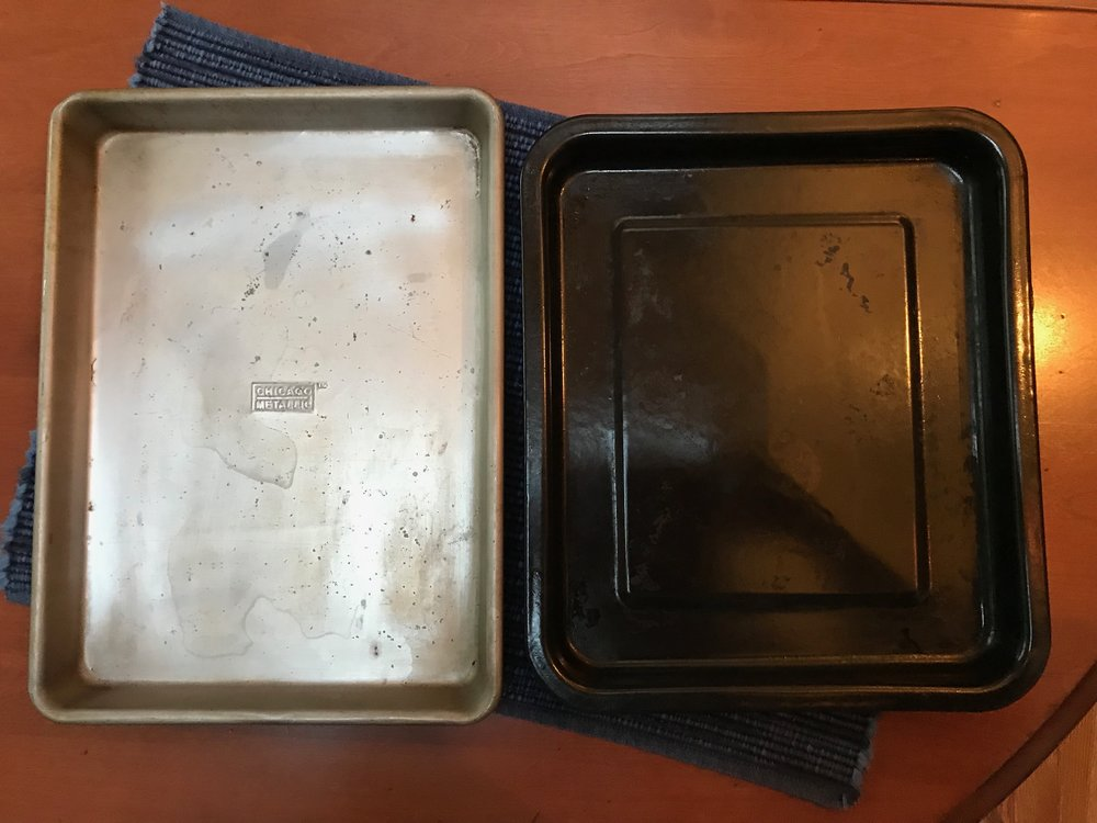 1/4 Sheet Pan and Black KitchenAid Countertop Oven Roasting Pan