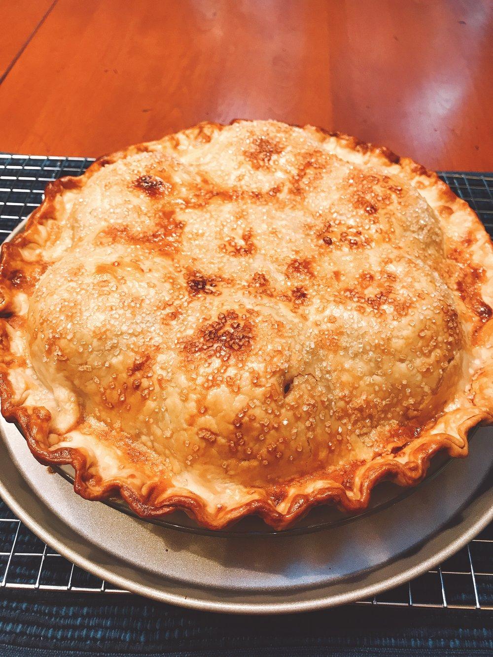 Apple Dumpling Pie!
