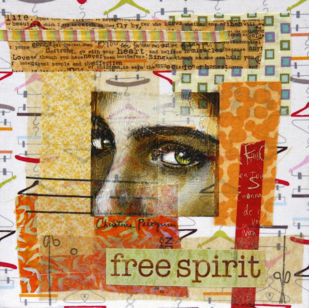 """Free Spirit, 8"""" x 8"""""""