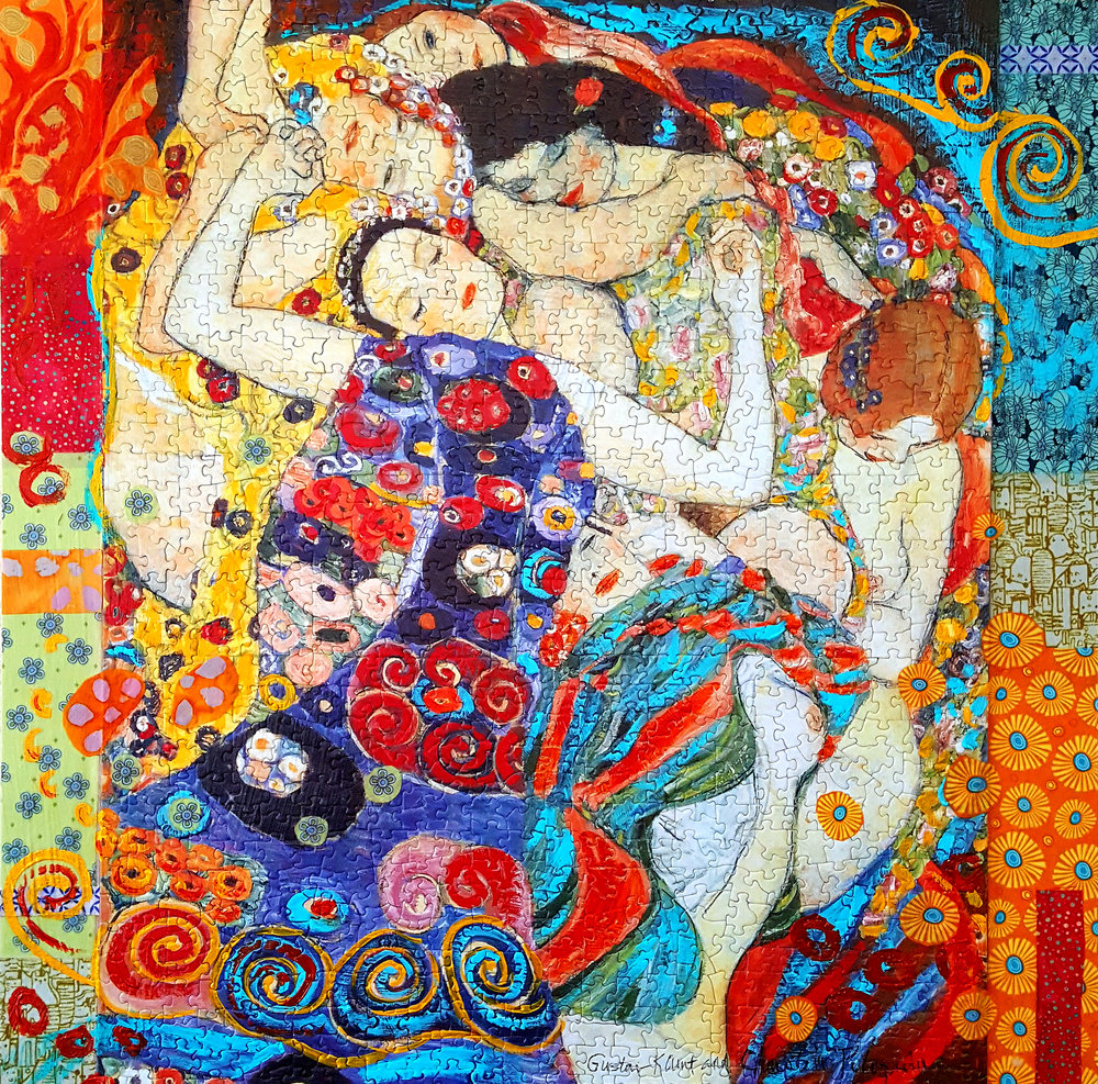 Obsessively Puzzled by Klimt