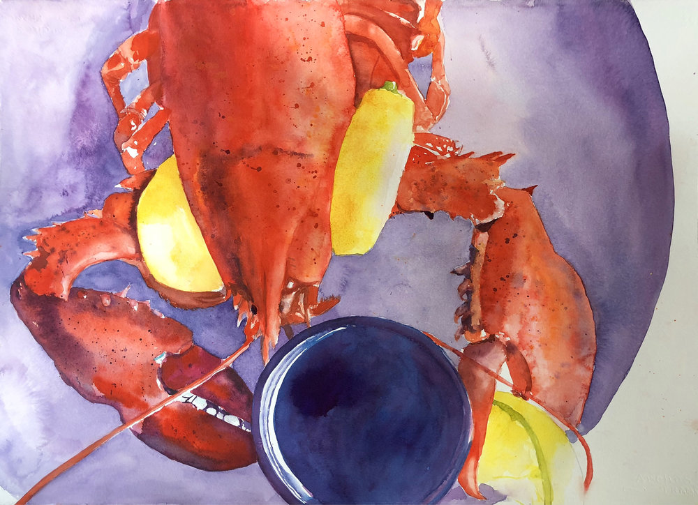 Heather Earnest's  Lobster Dinner