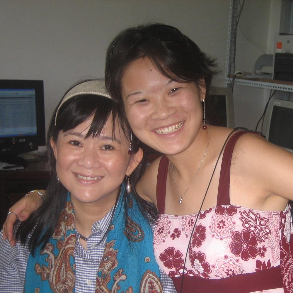 Abigail with Mrs. Siew Mei Cheung