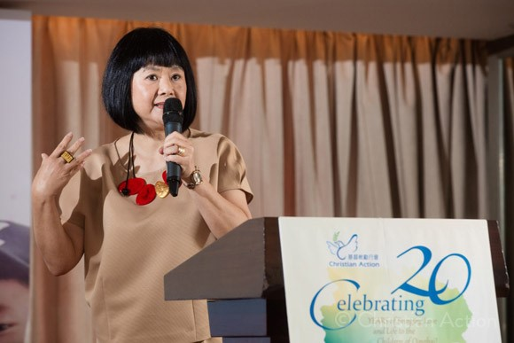 Mrs. Siew Mei Cheung - Executive Director of Christian Action