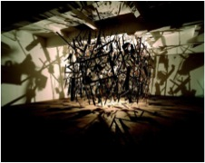Cold Dark Matter: An Exploded View. Cornelia Parker 1991