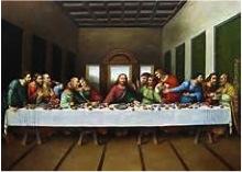 Last Supper, Leonardo da Vinci, 1495 - 98