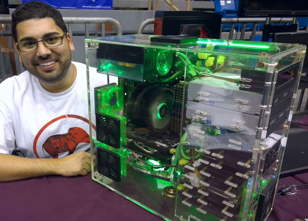 Paul Bangdiwala - Owner of Bandi Tech LLC with the Kryptonite Signature PC