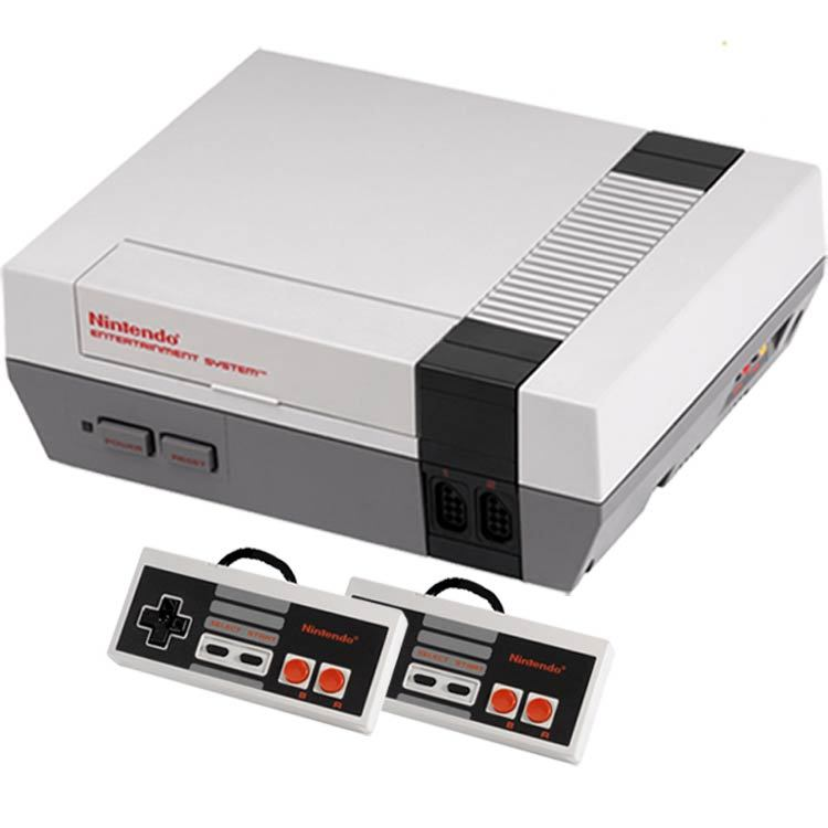 You remember this console.  If I reunited you with it today, you'd even remember how to blow into the cartridges to make it work.