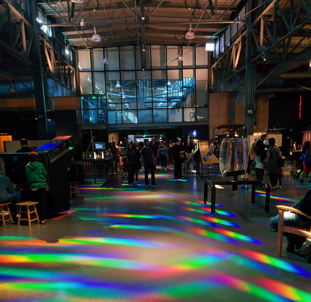 The Central Corridor of the new Exploratorium