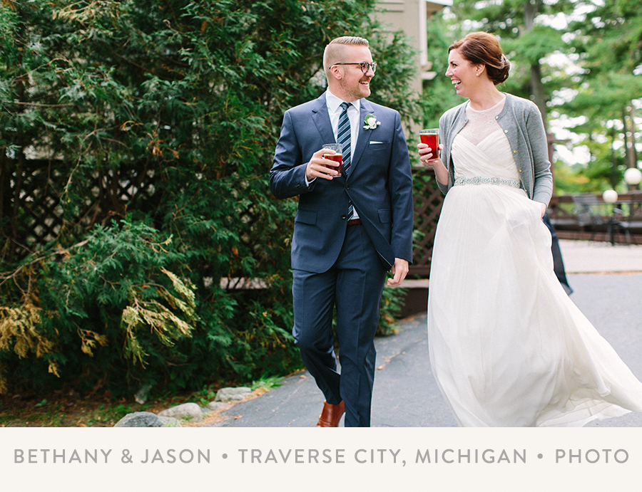 BETHANY & JASON   I   TRAVERSE CITY, MICHIGAN   I   PHOTO
