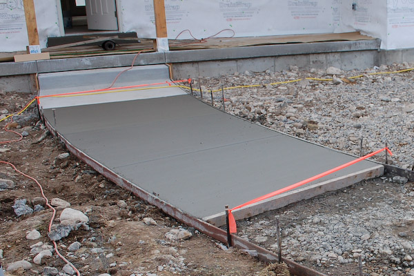 Our services asphalt concrete slurry seal striping for Removing concrete walkway