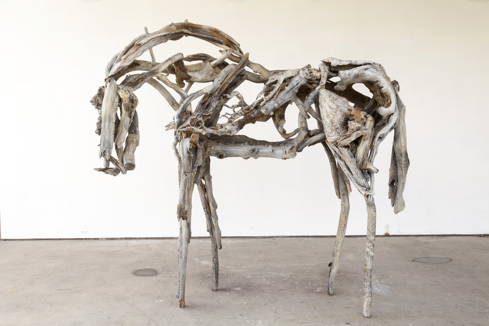Deborah Butterfield,  Dance Horse , 1998-99
