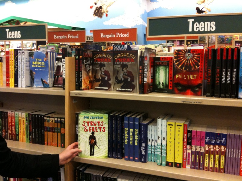 Barnes & Nobles catches up with the Indies