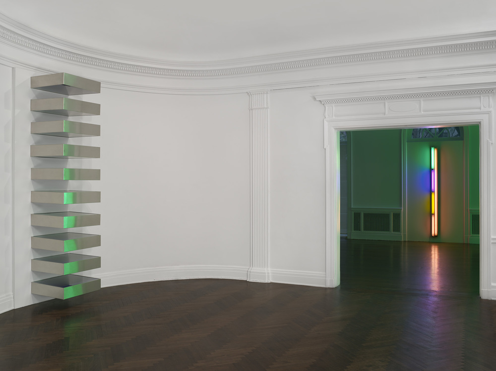 Donald Judd, Dan Flavin, Mnuchin Gallery