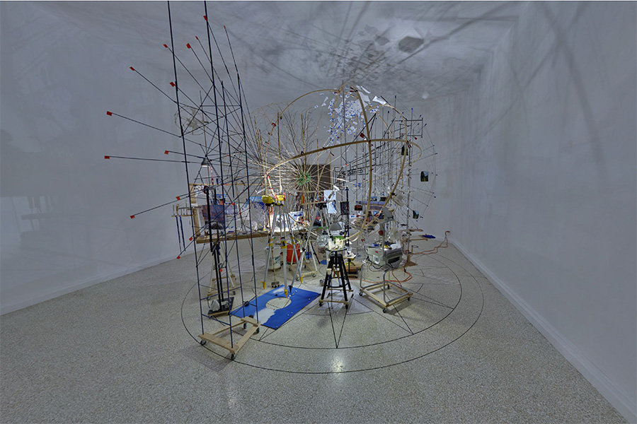 Sarah Sze: Triple Point, United States Pavilion, Venice Biennale, 2013