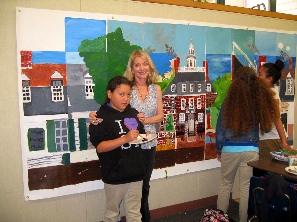 Willow Creek Academy Mural Project