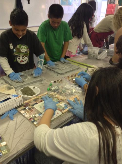 Davidson Middle School Fall 2013 Mosaic Project (5).JPG